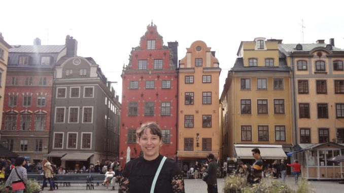 Me in Stockholm again. I really like it there. :-)