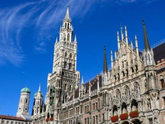 The Marienplatz in Munich